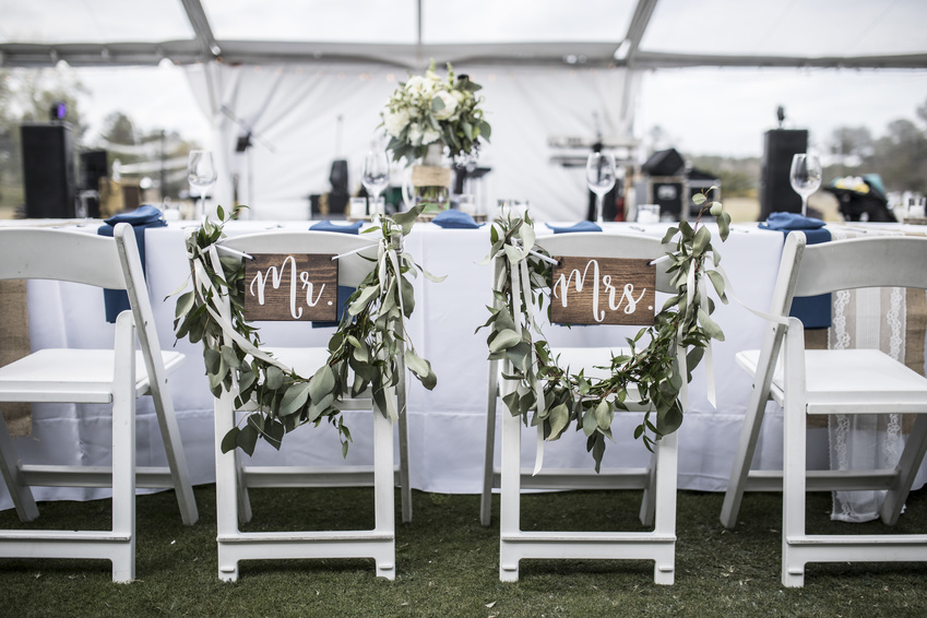 Types of chairs for weddings